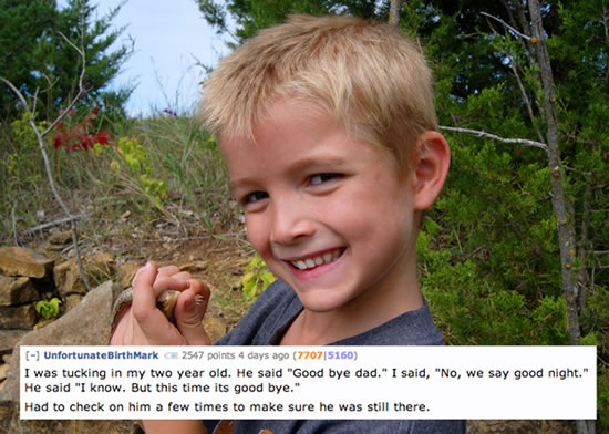 Creepy Things Kids Say To Their Parents 2