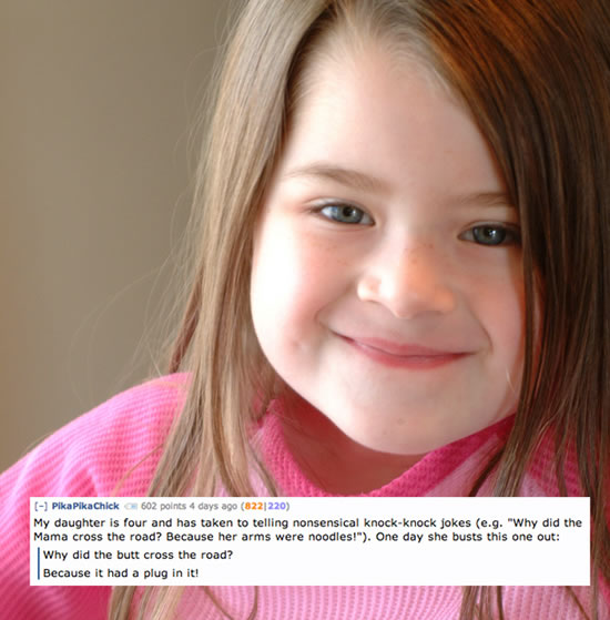 Creepy Things Kids Say To Their Parents 8