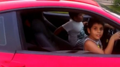 Dad Arrested After Letting 9 year Old Drive Ferrari on Public Road