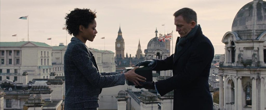 M's Real Name Secretly Revealed In 007 Movie Skyfall