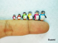 AMAZING TINY CUTE ANIMALS AND THINGS MADE BY KNITTING