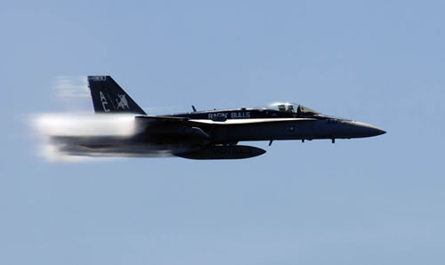 20 Amazing Pictures Of Fighter Jets Breaking the Sound Barrier 14