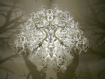 Chandelier Tree Turns a Room into a Forest 2