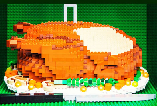 Delicious Lego Food Creations You'd Be Fooled Into Eating 1