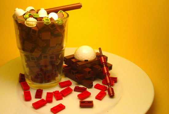 Delicious Lego Food Creations You'd Be Fooled Into Eating 11