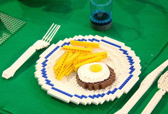 Delicious Lego Food Creations You'd Be Fooled Into Eating 12