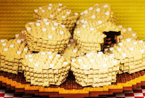 Delicious Lego Food Creations You'd Be Fooled Into Eating 6