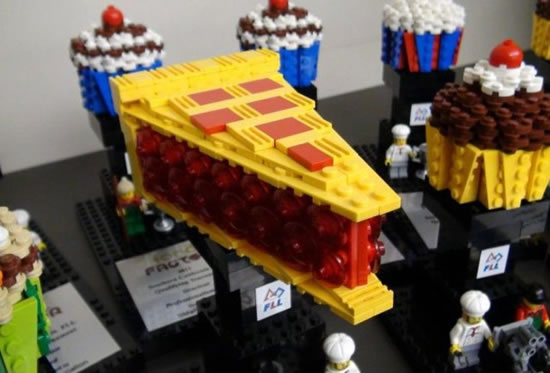 Delicious Lego Food Creations You'd Be Fooled Into Eating 8