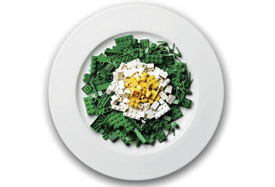 Delicious Lego Food Creations You'd Be Fooled Into Eating 9