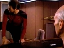 Ever Noticed Riker Sits Down Like A Crazy Person In Star Trek?