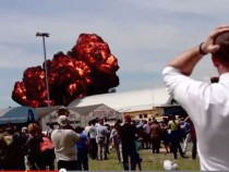 Jet Plane Crashes And Explodes At Spanish Air Show &#8211; Shocking Video