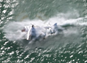 New Zealand helicopter Crashes Into Sea
