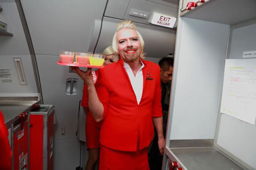 Air hostess man