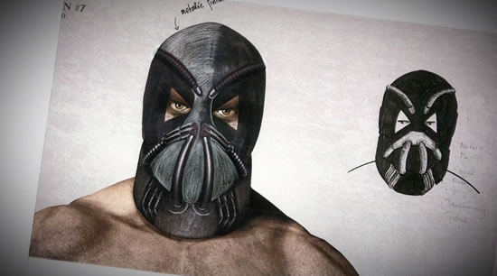 See What Bane Almost looked Like In Batman The Dark Knight Rises 1