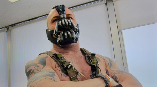 See What Bane Almost looked Like In Batman The Dark Knight Rises 4