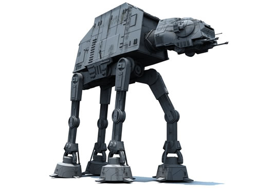 Star Wars Imperial Walkers Were Inspired By The Largest Land Mammal 2