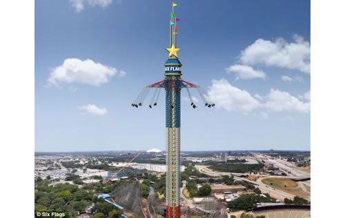 World's Highest Swing Ride Opens In Texas 0
