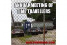 Annual Meeting Of Time Travelers – Picture Of The Day
