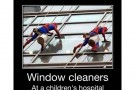 Spiderman Window Cleaners At Children Hospital – Picture Of The Day