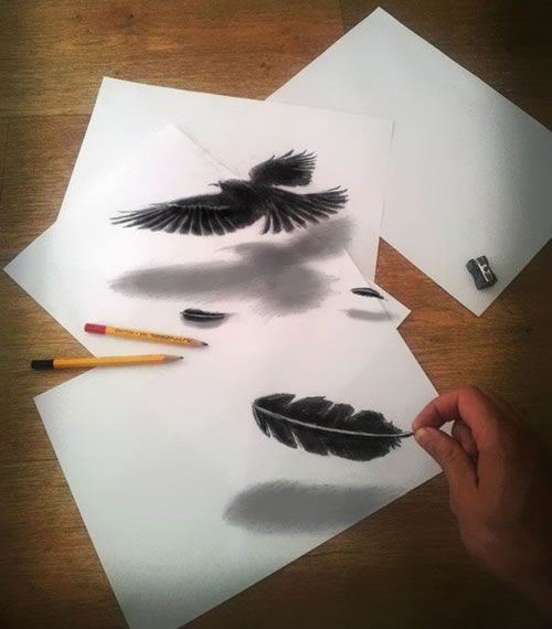 Awesome 3d pencil drawing pictures that will amaze you 8