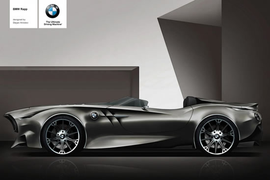 BMW Rapp Concept Created To Celebrate Automaker's 100th Anniversary 1
