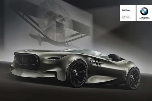 BMW Rapp Concept Created To Celebrate Automaker's 100th Anniversary