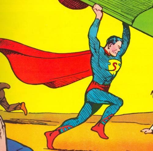 Evolution of the superman s symbol 1