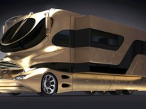 Gold Covered Mega Caravan Is Most Expensive Motorhome In The World