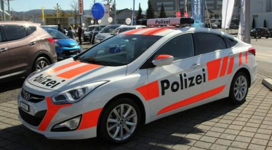Guy Rents Out Fake Police Cars In Switzerland To Scare Away Burglars 2