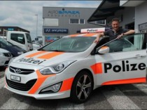 Guy Rents Out Fake Police Cars In Switzerland To Scare Away Burglars