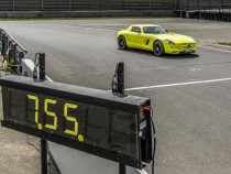 Mercedes SLS AMG EV Is Fastest Electric Car Round Nurburgring