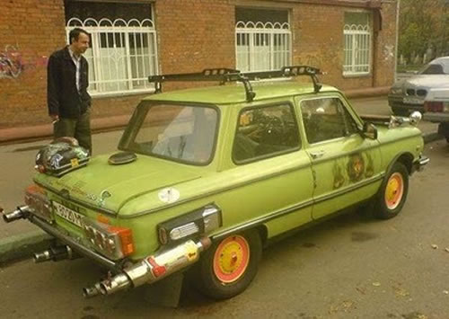Russian Crazy Cars - It's Unbelievable What They Build 1