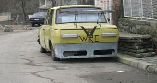 Russian Crazy Cars - It's Unbelievable What They Build 11