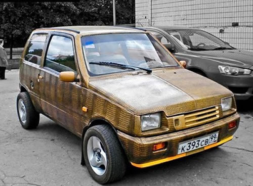 Russian Crazy Cars - It's Unbelievable What They Build 15