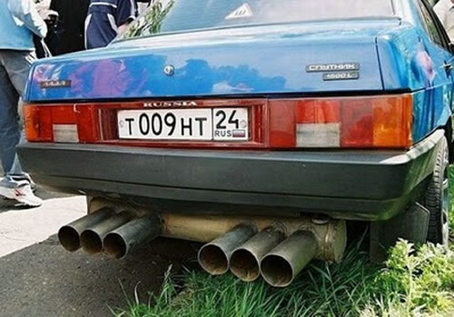 Russian Crazy Cars - It's Unbelievable What They Build 18