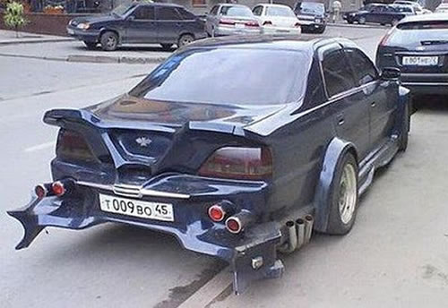 Russian Crazy Cars - It's Unbelievable What They Build 2