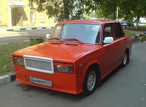 Russian Crazy Cars - It's Unbelievable What They Build 20