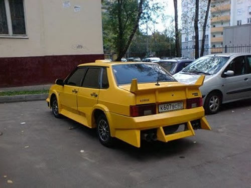 Russian Crazy Cars - It's Unbelievable What They Build 8