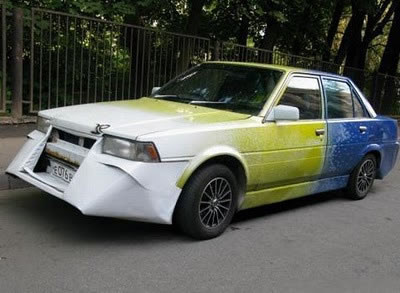 Russian Crazy Cars - It's Unbelievable What They Build 9