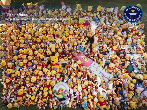 World's Largest Winnie The Pooh Collection Has Over 9000 Bear Items 1