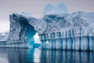 Amazing Natural Iceberg Cathedral: Pleneau Bay, Antarctica.