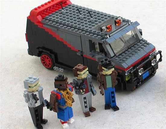 Lego Action Heroes And Their Cars