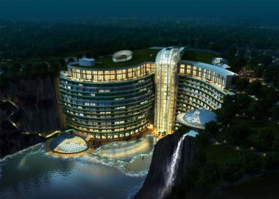 underground luxury hotel in China - Chennaites (2)