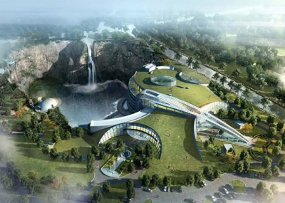 underground luxury hotel in China - Chennaites (3)