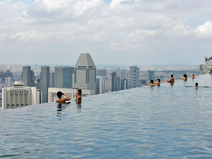 infinity pool singapore hotel. Top 10 Scariest Rooftop Hotel Pools Infinity Pool Singapore