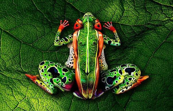 Amazing Body Art Illusions 1