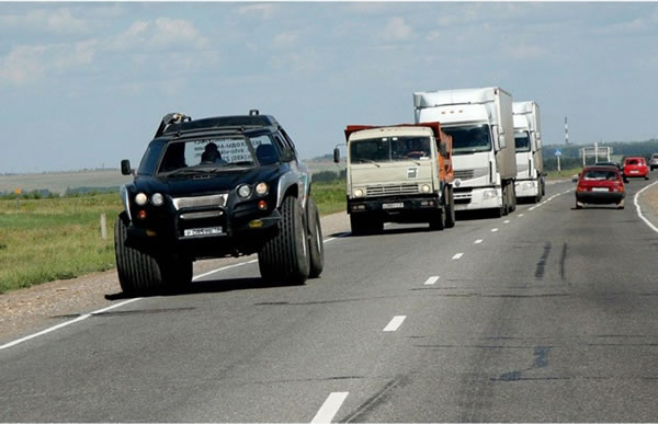 Russian Offroad Vehicle Aton 59