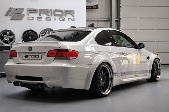 BMW E92 335i Widebody Kit M3 Conversion By Prior Design 2
