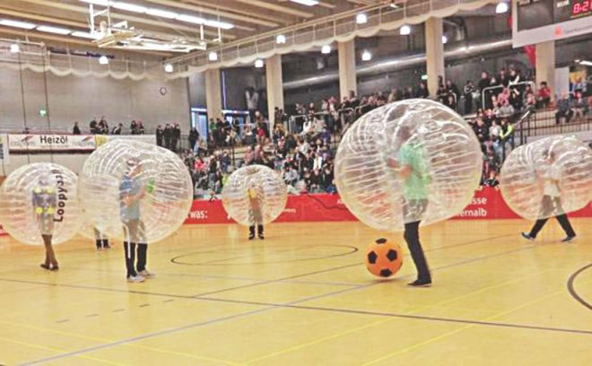 Bubble Football - The Crazy New Sport That Europeans Are Loving