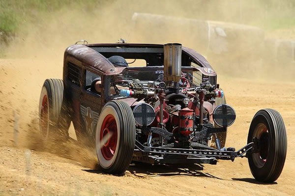 Custom Rat Rod Pictures 11